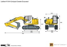 Liebherr R 914 Compact Crawler Excavator