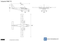 VulcanAir P68C TC