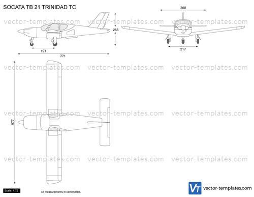 SOCATA TB 21 TRINIDAD TC