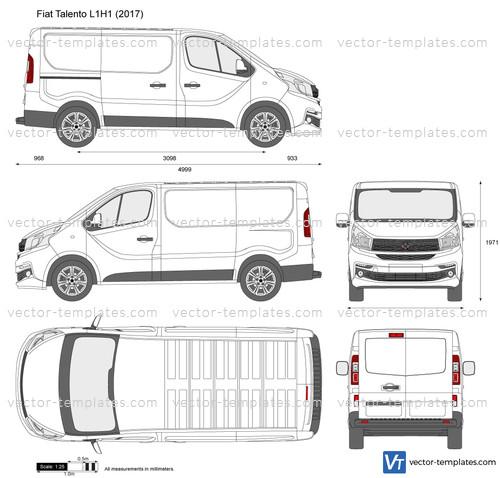 Templates Cars Fiat Fiat Talento L1h1