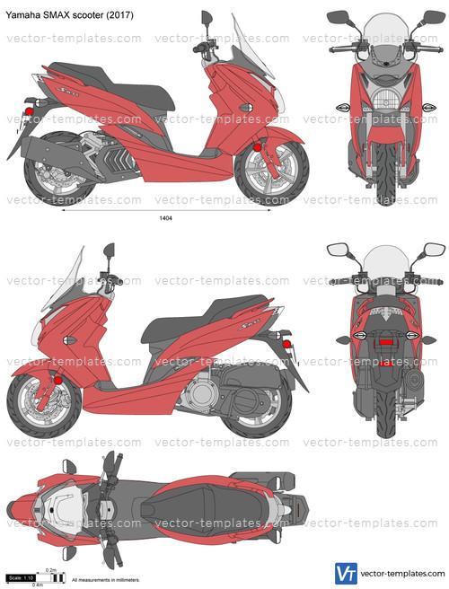 Yamaha SMAX scooter