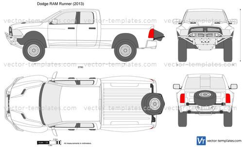 Dodge Ram Runner >> Templates Cars Dodge Dodge Ram Runner
