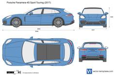 Porsche Panamera 4S Sport Touring