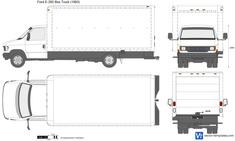 Ford E-350 Box Truck