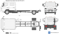 Mitsubishi-Fuso Canter Crew Cab 4750