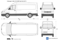 Volkswagen Crafter 30 35 MWB High Roof