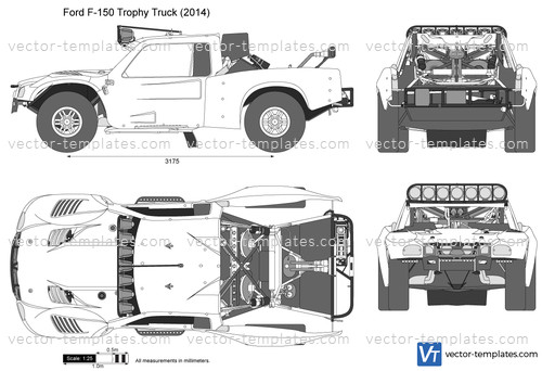 Templates - Cars - Ford - Ford F-150 Trophy Truck