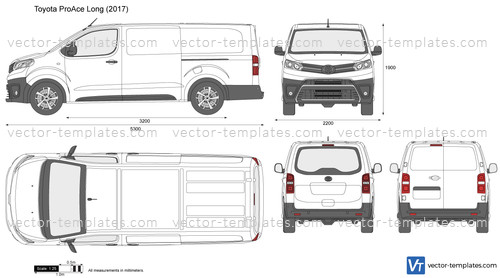 Templates Cars Toyota Toyota Proace Long