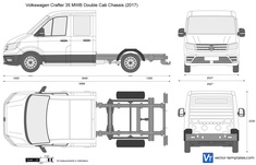 Volkswagen Crafter 35 MWB Double Cab Chassis