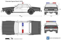 Chevrolet Caprice Sherrif 9C1 Police Car