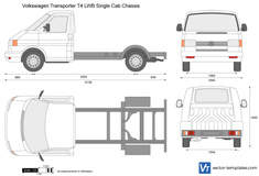 Volkswagen Transporter T4 LWB Single Cab Chassis
