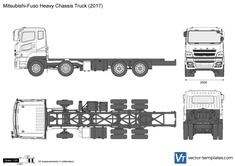 Mitsubishi-Fuso Heavy Chassis Truck