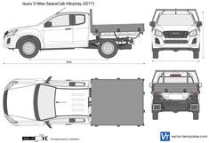 Isuzu D-Max Space Cab Alloytray