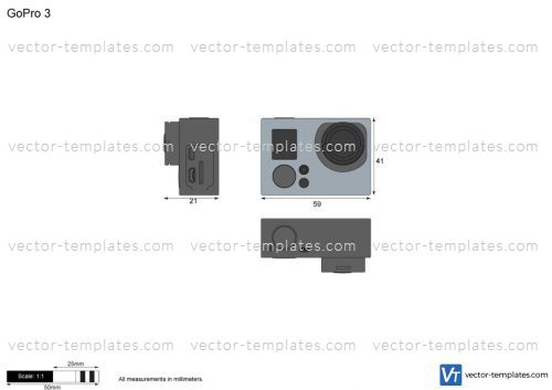 Templates - Miscellaneous - Other - GoPro 3