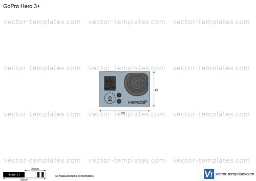 Gopro Templates | Templates Miscellaneous Other Gopro Hero 3