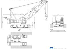 Hitachi Sumitomo SCX700 Hydraulic Crawler Crane