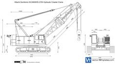 Hitachi Sumitomo SCX800HD-2 EN Hydraulic Crawler Crane