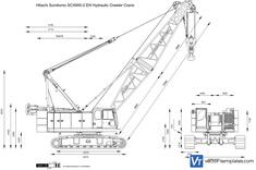 Hitachi Sumitomo SCX900-2 EN Hydraulic Crawler Crane