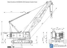 Hitachi Sumitomo SCX900HD-2 EN Hydraulic Crawler Crane