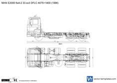 MAN E2000 6x4-2 33.xx3 DFLC 4075+1400