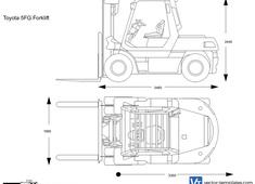 Toyota 5FG Forklift