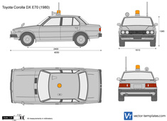 Toyota Corolla DX E70