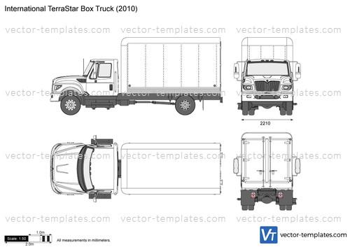International TerraStar Box Truck