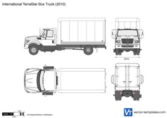 International TerraStar Box Truck