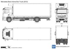 Mercedes-Benz Actros Box Truck