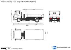 Hino Rear Dump Truck Drop Side FC7JGMA
