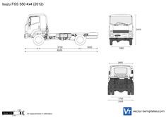 Isuzu FSS 550 4x4