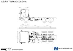 Isuzu FVY 1400 Medium Auto