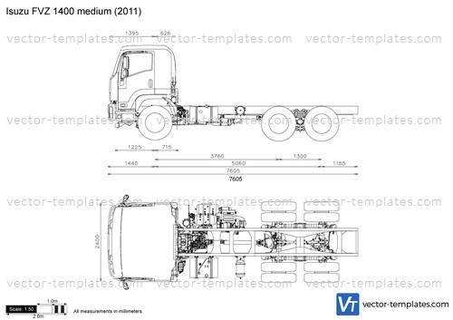 Isuzu FVZ 1400 medium