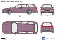 Mitsubishi Legnum VR-4 Type V