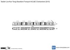 Stadler Low-floor Tango Baselland Transport AG (BLT) Switzerland