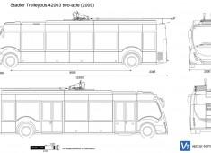 Stadler Trolleybus 42003 two-axle