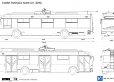 Stadler Trolleybus model 321