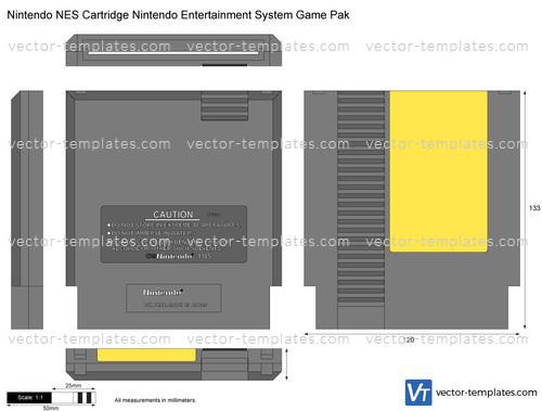 Nintendo NES Cartridge