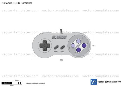 Nintendo SNES Controller