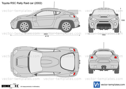 Toyota RSC Rally Raid car