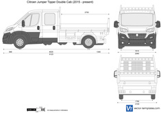 Citroen Jumper Tipper Double Cab