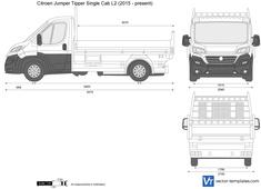 Citroen Jumper Tipper Single Cab L2