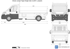 Citroen Jumper Tipper Single Cab L3