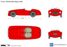 Ferrari 166 MM Mille Miglia