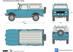 International Scout 800A