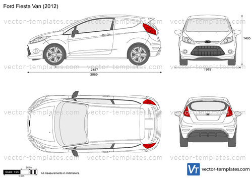 Templates Cars Ford Ford Fiesta Van