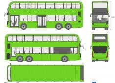 Alexander-Dennis Enviro 500 Double Decker Bus