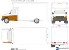 Ford Econoline EX-UHAUL 17 feet Mover