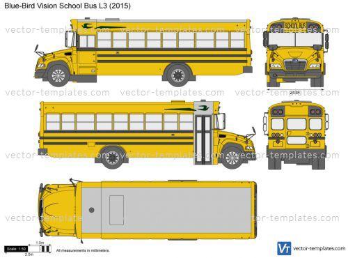 Blue Bird Vision School Bus L3