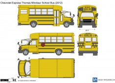 Chevrolet Express Thomas Minotaur School Bus